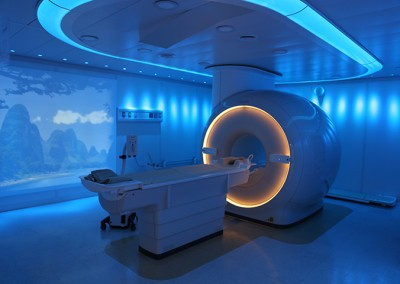 MRI – MAGNETIC RESONANCE IMAGING, with Ambient Lighting Experience